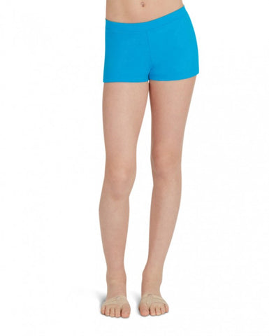 Child Boycut Shorts (Turquoise) tb113c - Dancer's Wardrobe