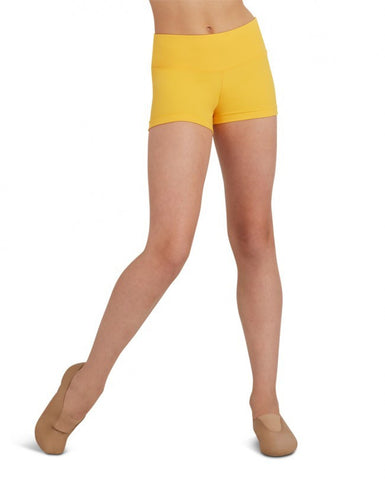 Child Gusset Shorts (Gold) tb130c - Dancer's Wardrobe