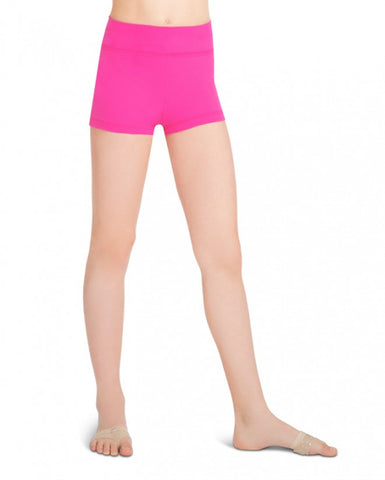 Child Gusset Shorts (Hot Pink) tb130c - Dancer's Wardrobe