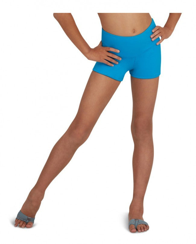 Adult Gusset Short (Turquoise) tb130 - Dancer's Wardrobe