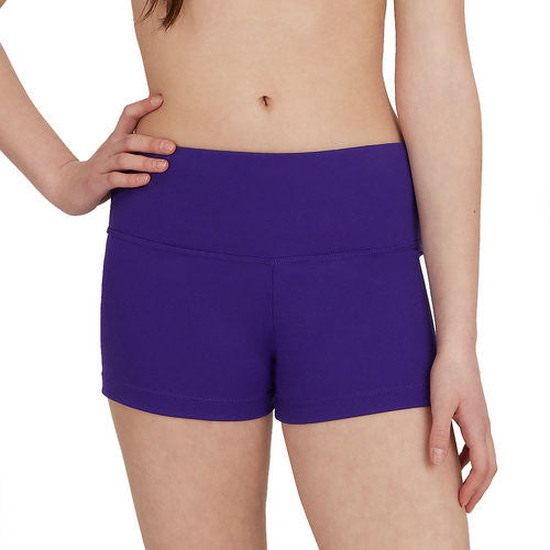 Adult Gusset Short (Purple) tb130 - Dancer's Wardrobe