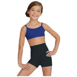 Child High Waist Shorts TB131C - Dancer's Wardrobe