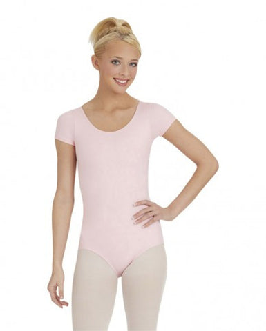 Adult Short Sleeve Leotard - Dancer's Wardrobe