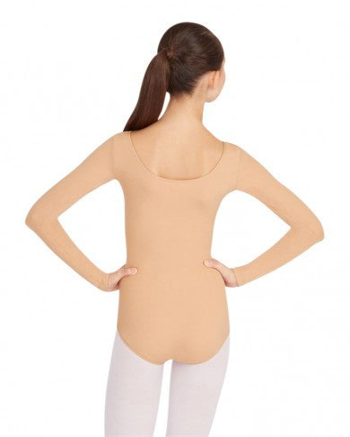 Adult Long Sleeve Leotard (Light Suntan) - Dancer's Wardrobe