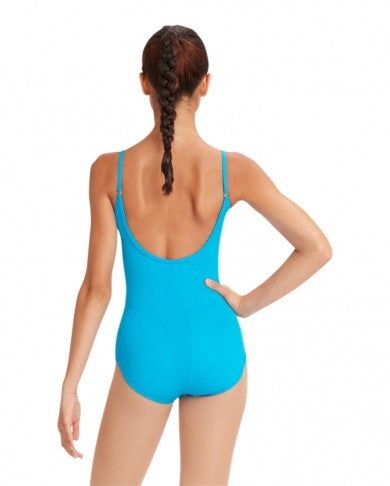 Adult Camisole Leotard w/Adjustable Straps (Turquoise) TB1420 - Dancer's Wardrobe