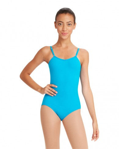 221502347 Adult Camisole Leotard w Adjustable Straps (Turquoise) TB1420 ...