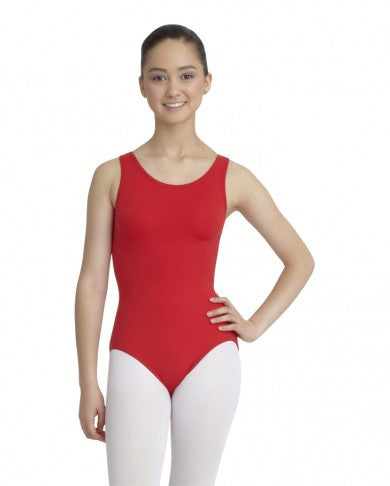 Adult Tank Leotard (Red) (MFA) - Dancer's Wardrobe