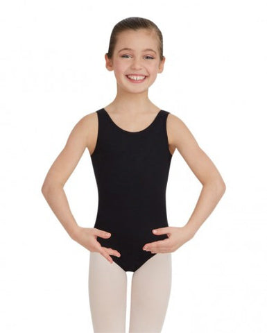 Child Tank Leotard (Black) (MFA) - Dancer's Wardrobe