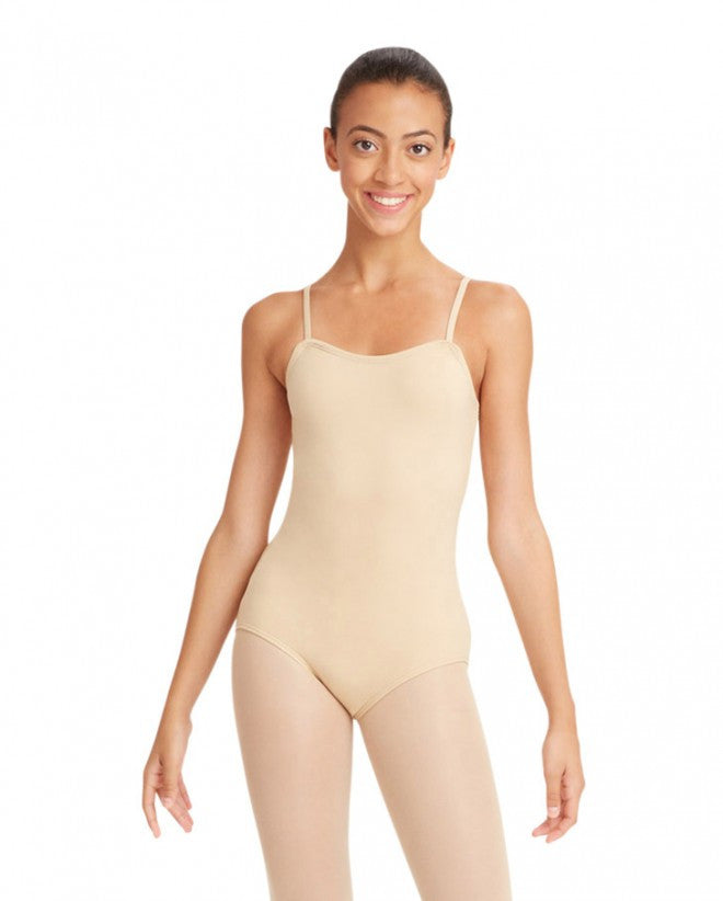 Child Nude Cami Leotard Capezio TB49C - Dancer's Wardrobe