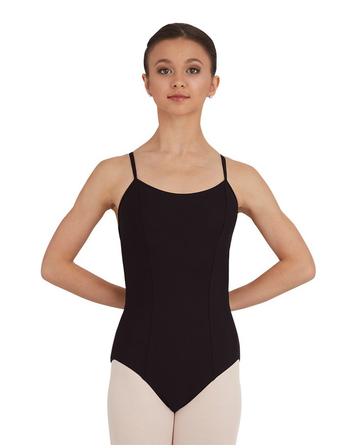 MOSAIC PRINCESS CAMISOLE LEOTARD TC0018W (Black)