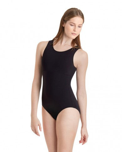 SHEER BACK TANK LEOTARD - Dancer's Wardrobe