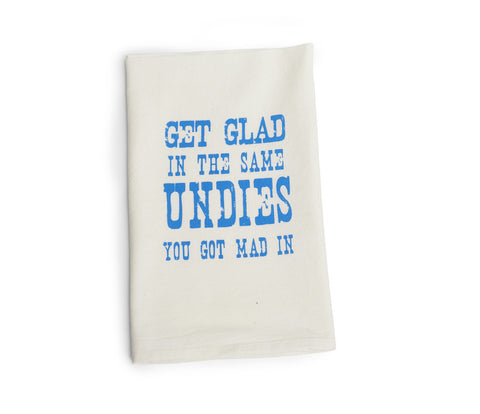 Get Glad Tea Towel