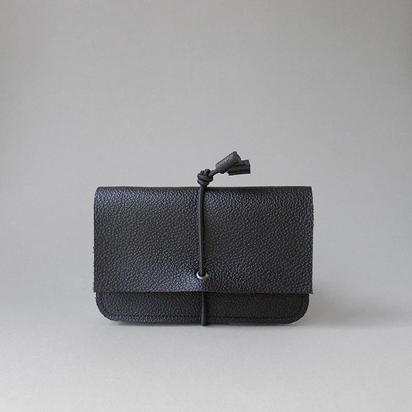 Black Bungee Wallet