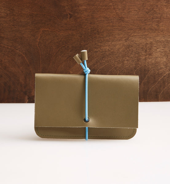 Olive Bungee Wallet