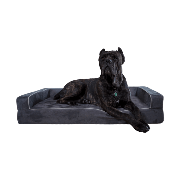 Orthopedic 3 Sided Bolster Bed Bullybeds.com