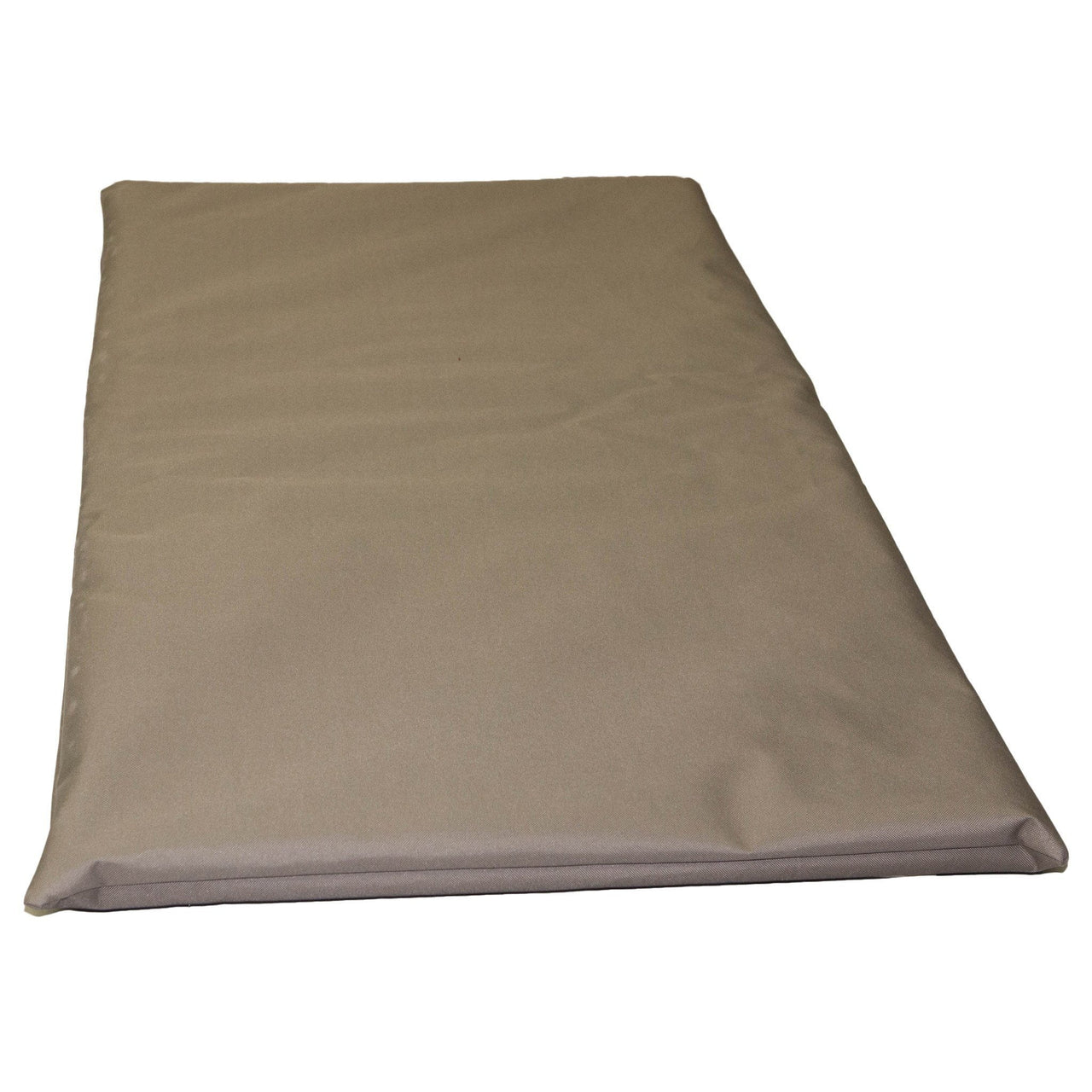 Chew Resistant Crate Pad With 200 Day Guarantee Bullybeds.com Large $104.99 Khaki