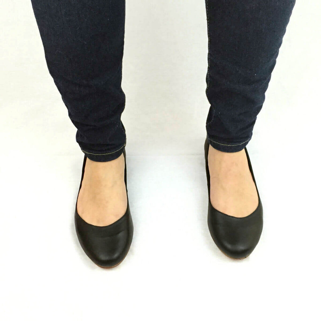 Leather Flats | Easy spirit shoes flats, Leather flats