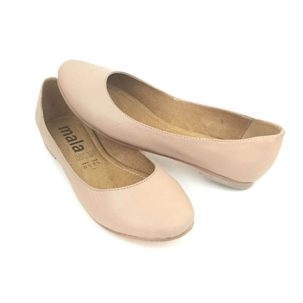 Nine West Nude Patent Ballet Flats | Where to buy & how to