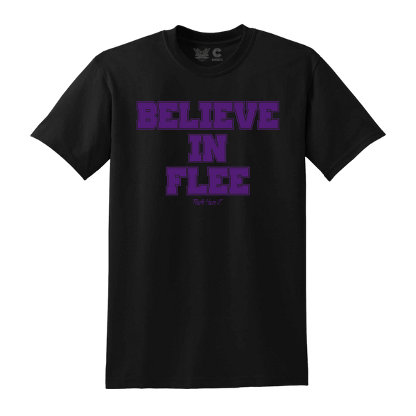 Believe in Flee Tee in Black + Digital Album Download
