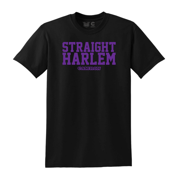 Straight Harlem Tee in Black + Digital Album Download