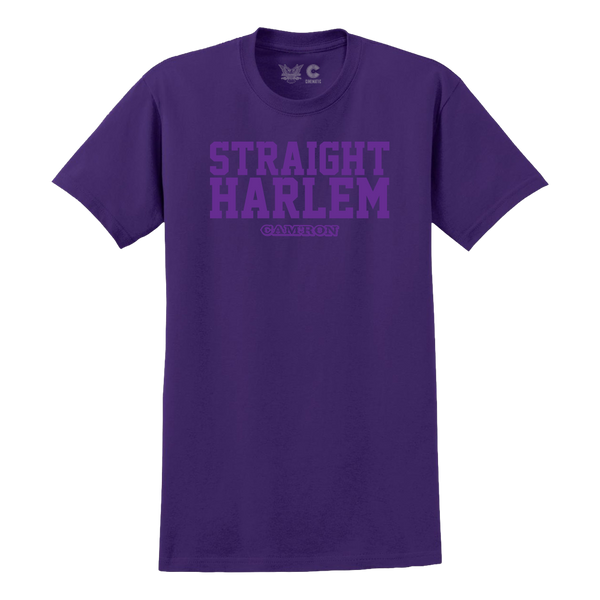 Straight Harlem Tee in Purple + Digital Album Download
