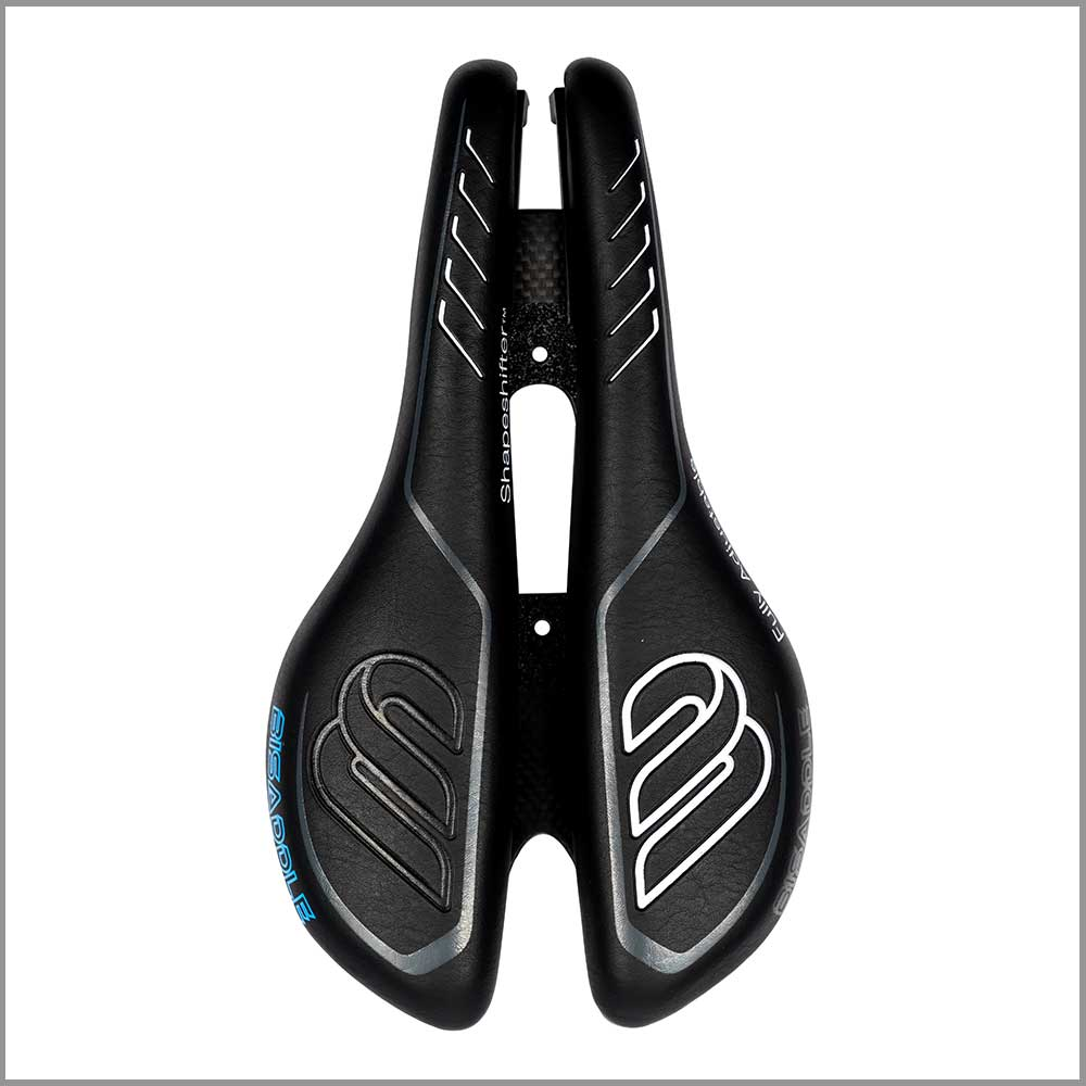 Bisaddle shape shifter ext sprint top view