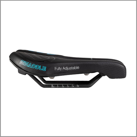BiSaddle EXT Stealth + SRT Surfaces Combo Kit (Includes 1 base and 2 sets of saddle surfaces)