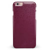 50 Shades of Burgandy Micro Hearts iPhone 6/6s or 6/6s Plus INK-Fuzed Case