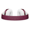 50 Shades of Burgandy Micro Hearts Full-Body Skin Kit for the Beats by Dre Solo 3 Wireless Headphones