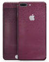 50 Shades of Burgandy Micro Hearts - Skin-kit for the iPhone 8 or 8 Plus