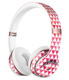 50 Shades of Pink Micro Triangles Full-Body Skin Kit for the Beats by Dre Solo 3 Wireless Headphones