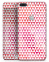 50 Shades of Pink Micro Triangles - Skin-kit for the iPhone 8 or 8 Plus