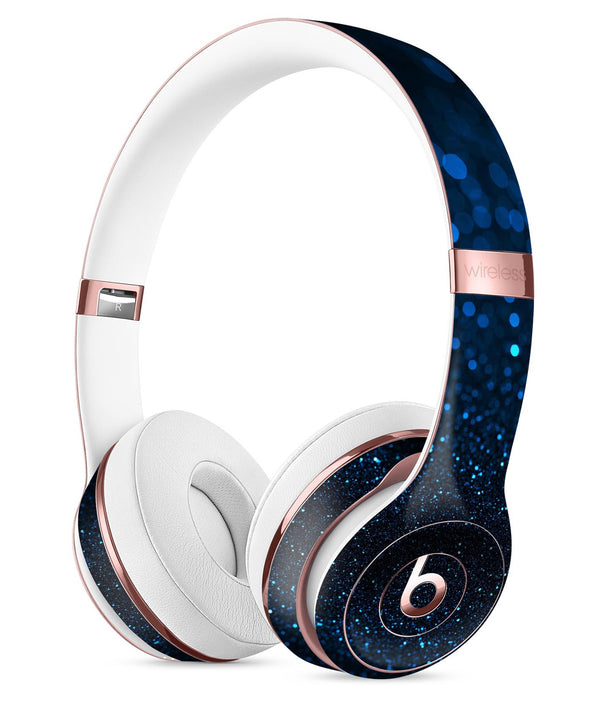 50 Shades of Unflocused Blue Full-Body Skin Kit for the Beats by Dre Solo 3 Wireless Headphones