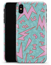 90's Zig Zag - iPhone X Clipit Case