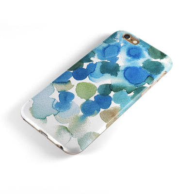 Absorbed Watercolor Texture v3 iPhone 6/6s or 6/6s Plus 2-Piece Hybrid INK-Fuzed Case