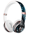 Abstract Black and Blue Overlap Full-Body Skin Kit for the Beats by Dre Solo 3 Wireless Headphones