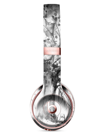 Abstract Black and White WaterColor Vivid Tree Full-Body Skin Kit for the Beats by Dre Solo 3 Wireless Headphones