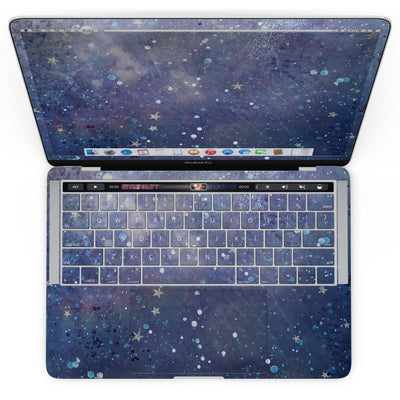 MacBook Pro with Touch Bar Skin Kit - Abstract_Blue_Grungy_Stars-MacBook_13_Touch_V4.jpg?