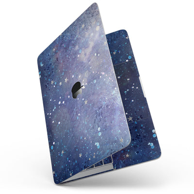 MacBook Pro with Touch Bar Skin Kit - Abstract_Blue_Grungy_Stars-MacBook_13_Touch_V7.jpg?