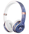 Abstract Blue Grungy Stars Full-Body Skin Kit for the Beats by Dre Solo 3 Wireless Headphones