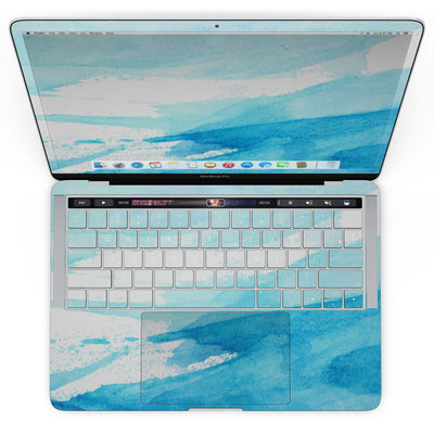 MacBook Pro with Touch Bar Skin Kit - Abstract_Blue_Strokes-MacBook_13_Touch_V4.jpg?