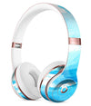 Abstract Blue Strokes Full-Body Skin Kit for the Beats by Dre Solo 3 Wireless Headphones
