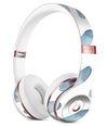 Abstract Blue Watercolor Strokes Full-Body Skin Kit for the Beats by Dre Solo 3 Wireless Headphones