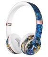 Abstract Blue Wet Paint Full-Body Skin Kit for the Beats by Dre Solo 3 Wireless Headphones