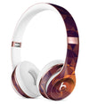 Abstract Copper Geometric Shapes Full-Body Skin Kit for the Beats by Dre Solo 3 Wireless Headphones