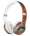 Abstract Cracked Burnt Paint Full-Body Skin Kit for the Beats by Dre Solo 3 Wireless Headphones