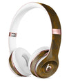 Abstract Dark Gray and Gold Shards Full-Body Skin Kit for the Beats by Dre Solo 3 Wireless Headphones