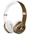 Abstract Dark Gray and Golden Specks Full-Body Skin Kit for the Beats by Dre Solo 3 Wireless Headphones