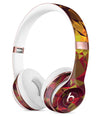 Abstract Geometric Lava Triangles Full-Body Skin Kit for the Beats by Dre Solo 3 Wireless Headphones