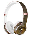 Abstract Golden Fire with Smoke Full-Body Skin Kit for the Beats by Dre Solo 3 Wireless Headphones